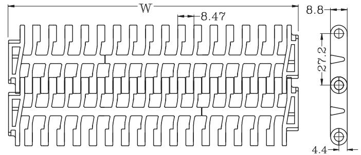 Ast9002 Flush Grid