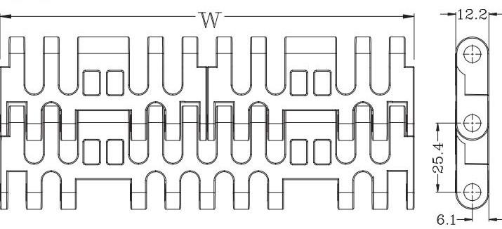 Ast7708 Flush Grid