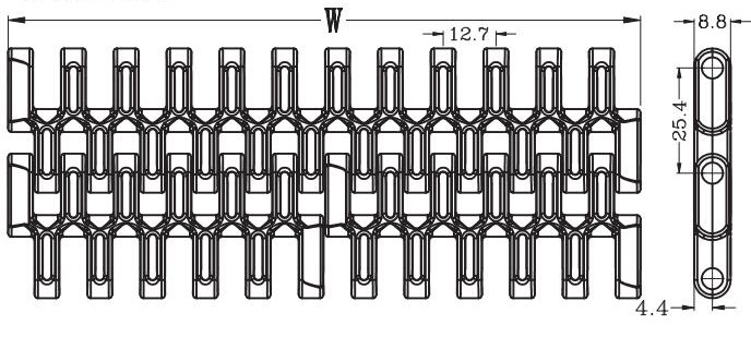 Ast7300 Flush Grid