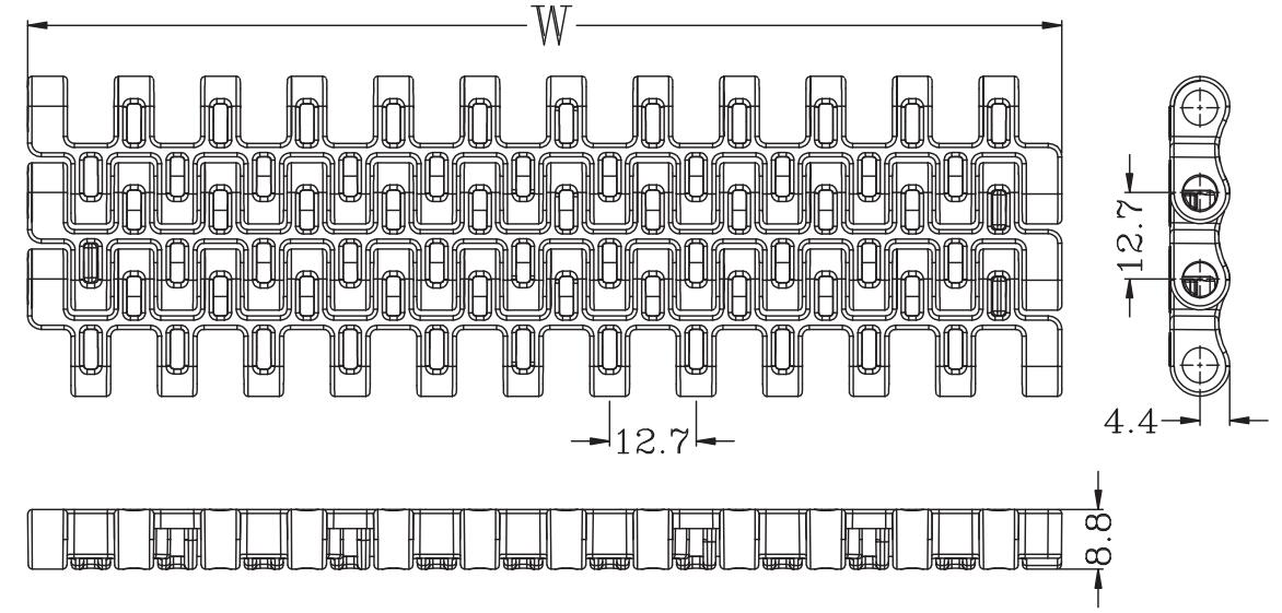 Ast7120 Flush Grid