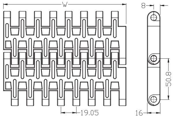 Ast5032 Flush Grid