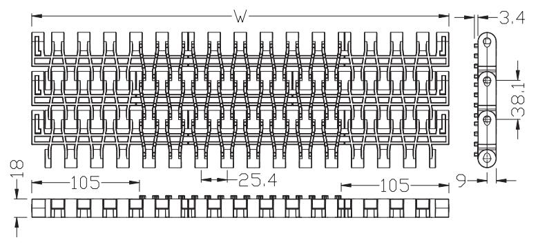 Ast3812 Flush Grid with bulge