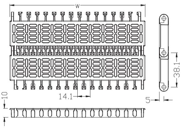 Ast3810 Flush Grid