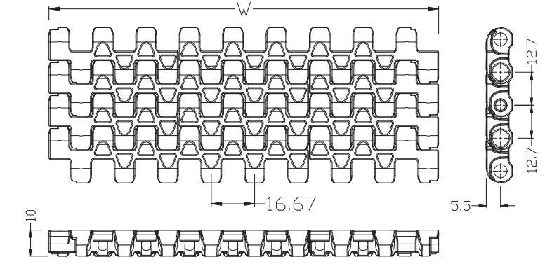 Ast1230 Flush Grid