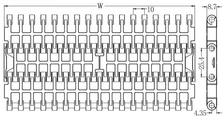 Ast1002 Flush Grid