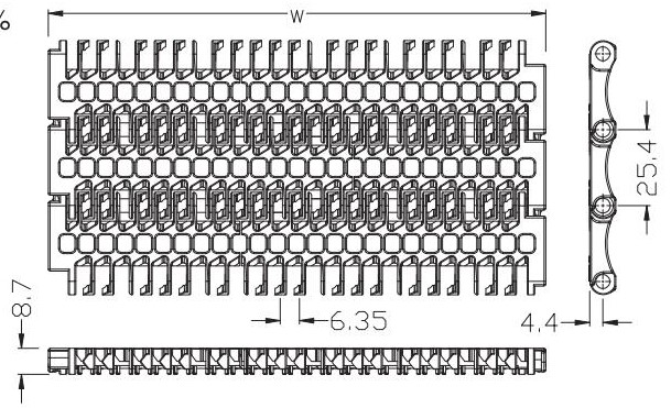 Ast100 Flush Grid