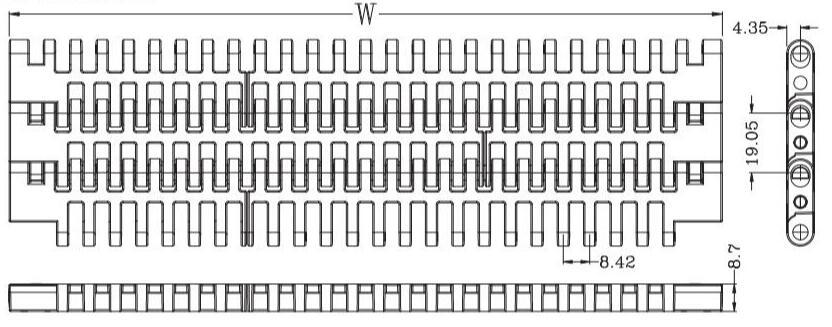 Ast 8506 Flush Grid