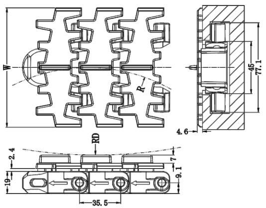 Ast103E Multiflex Belt