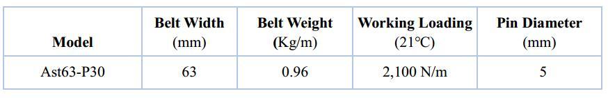 Ast63-P30 Multiflex Belt