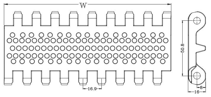 Ast8003 Perforated Top