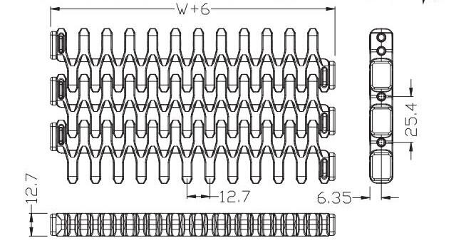 Ast7100-3 Side Flexing