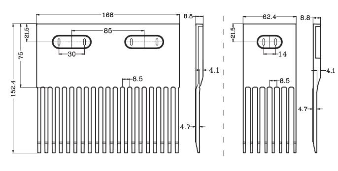 Combs for Ast1603