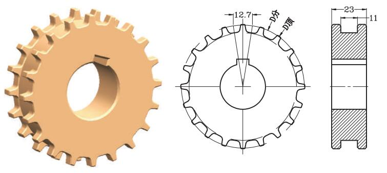 Sprocket for Series 2120