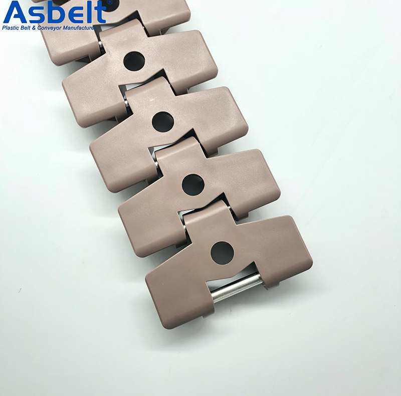 Ast880TABO Plastic Flat Top Belt