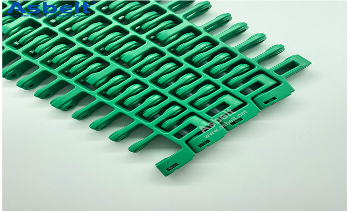 Plastic Modular Belt Conveying Capacity Range